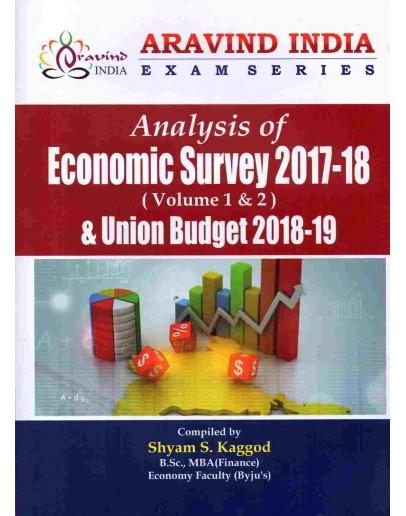 Analysis of Economic Survey 2017-18 by Shyam S Kaggod