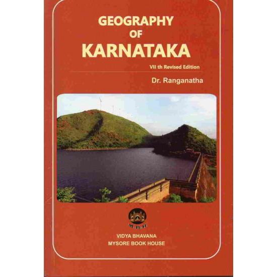 Geography of Karnataka by Dr. Ranganatha