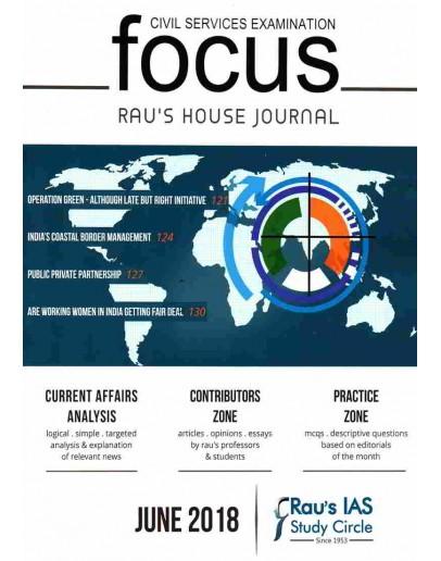 Focus June 2018 Monthly Current Affairs